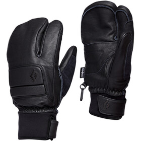 Black Diamond Spark Finger Gloves, smoke